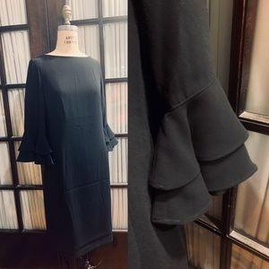 Black Beauty Bell Sleeves Ralph Lauren Dress